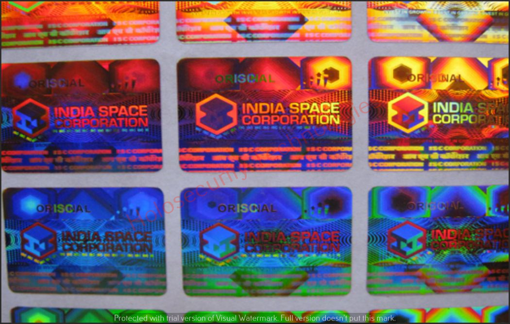 Holograms Stickers & Labels