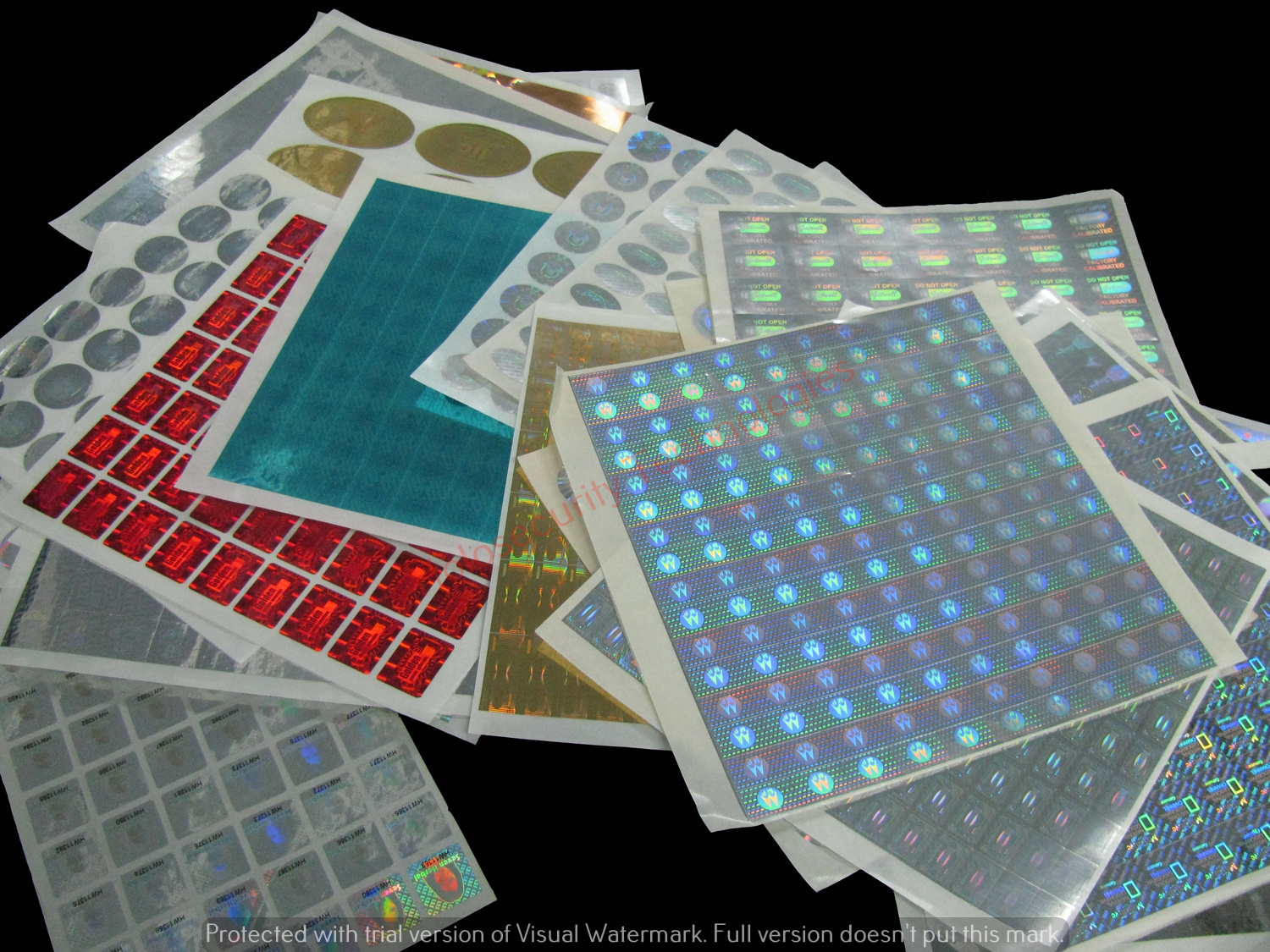 Instant Holograms Stickers